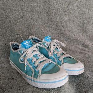Adidas Originals Wmns Blue Casual Shoe Sz 6.5